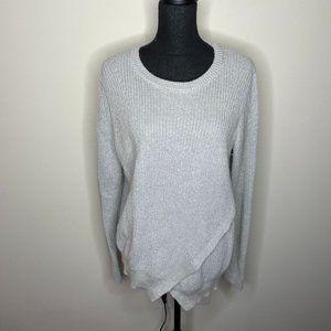 Banana Republic Grey Wool Mohair Blend Sweater L